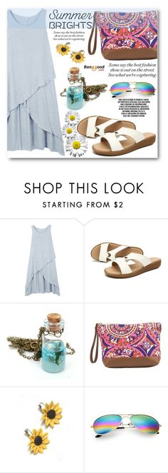 """Summer Brights"" by angelstar92 ❤ liked on Polyvore featuring MACBETH and Summer and Silver"