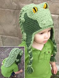 Awesome crocodile hat!  Thi is my neice's website.  it is awesome!