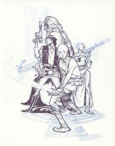 Canete, Eric Comic Art
