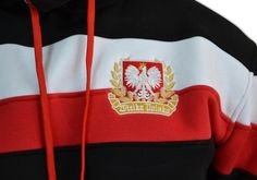 Motyw patriotyczny na bluzie 'Wielka Polska' ---> Streetwear shop: odzież uliczna, kibicowska i patriotyczna / Przepnij Pina!