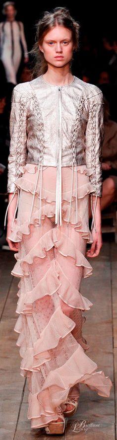PARIS FASHION WEEK... Brilliant Luxury * Alexander McQueen Spring 2016 Paris repin BellaDonna