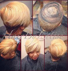 Top quick weave/ short cut