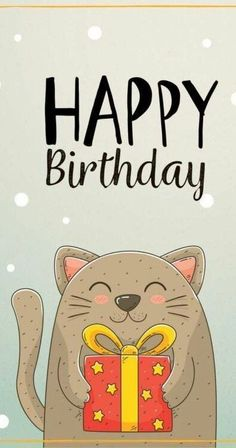 Happy Birthday Animated Cards, Funny Happy Birthday Song, Happy Birthday Best Friend Quotes, Happy Birthday Wallpaper, Cute Happy Birthday, Happy Birthday Images, Happy Birthday Wishes Cards, Happy Wishes, Birthday Postcards