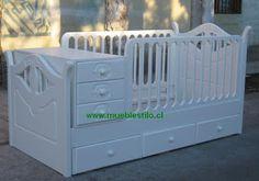 muebles de bebe: cuna convertible Antofagasta