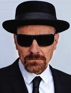 Heisenberg. Aka Bryan Cranston | by Alexei Hay. Add him to your Endorfyn Likes: www.endorfyn.com/us/home?like=Bryan%20Cranston