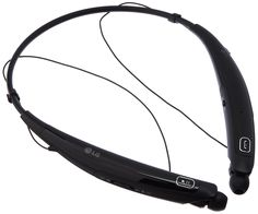 LG Tone Pro HBS-770 Wireless Stereo Headset - Black. Ultra-Fine Wires - Low-profile wires uses quality Kevlar fiber and accentuate the slim design. Contoured for Comfort Design - Lightweight around-the-neck wearing style achieves true comfort. Quad-Layer Speaker Technology - Balanced audio and less distortion. Dual MEMS Microphones - Maintain exceptionally clear voice calls. Tone & Talk 2.0 - SMS reading with added Voice Memo and Find Me features, allowing you to use your TONE PRO to…