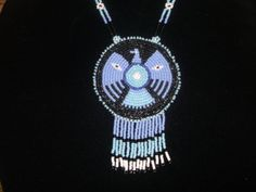 sale item.. thunderbird necklace by deancouchie on Etsy