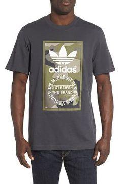 eef315841a4 ADIDAS Camo Blackbird Mens T-Shirt