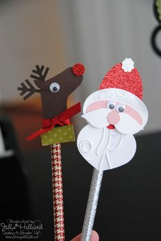 Jill's Card Creations: Pencil Toppers