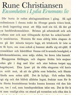 Rune Christiansen - Ensomheten i Lydia Ernemanns liv