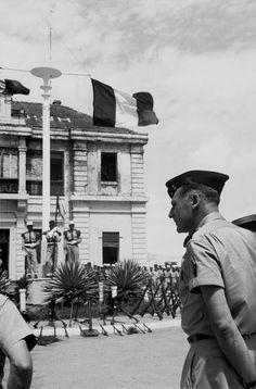 INDOCHINE Nam Dinh. General COGNY 1954