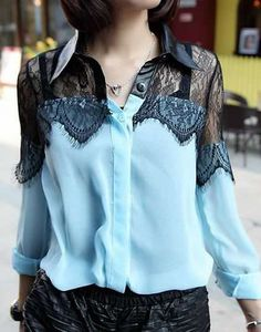 Free Sewing Pattern and Style ideas for Button Down Shirts - Regular & Plus sizes