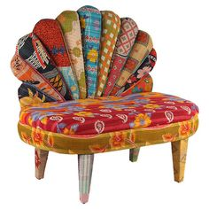 Set this settee by an ornate tapestry or under a duo of stained-glass lanterns for a splash of Moroccan style in your den or living room.   ...
