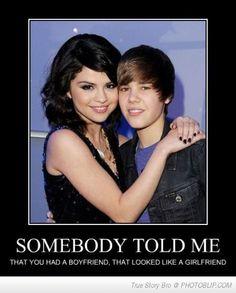 So I like JB and I don't think he looks like a girl. BUT this did make me laugh!