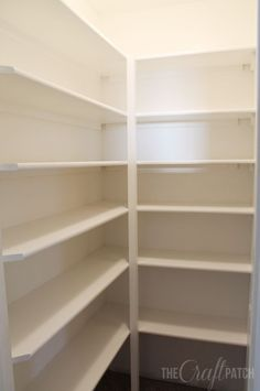 How To Build Pantry Shelves | Hometalk
