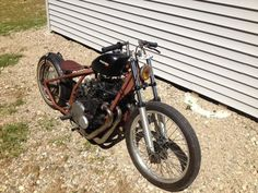 Rat bike Rat Bikes, Bike Pic, Honda Fit, Bobber, Chopper, Rats, Motorbikes, Wheels, Garage