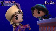 Disney Fan Collector: Colección Funko Pop: Aladdín y Jasmine