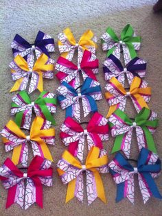 Softball Bows If you are searching for hairstyles that may make you comfortable when you Softball Hair Bows, Cheer Bows, Softball Stuff, Making Hair Bows, Diy Hair Bows, Hair Line Up, Softball Hairstyles, Sporty Hairstyles, Ribbon Retreat
