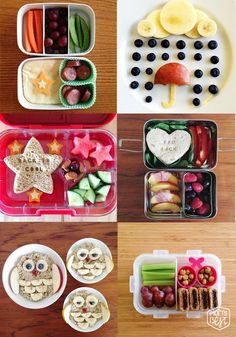 A Little Lunch Inspiration…bento style via momsbestnetwork.com