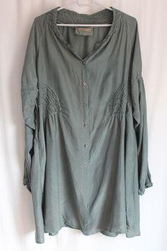 cocon.commerz PRIVATSACHEN Mantel aus STEPPSEIDE in grau Größe 2 #nachhaltig seit 1984 #seide #leinen #linen #silk #handgefärbt  #shibori #hand-dyed
