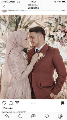 43 Ideas muslim bridal look wedding hijabYou can find Wedding hijab and more on our Ideas muslim bridal look wedding hijab Muslim Wedding Gown, Kebaya Wedding, Muslimah Wedding Dress, Muslim Wedding Dresses, Wedding Hijab Styles, Bridal Hijab, Hijab Bride, Bridal Bouquets, Bridal Photoshoot
