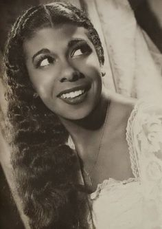 Rita Lucía Montero (1928 - 2013) Afro-Argentine actress and singer.