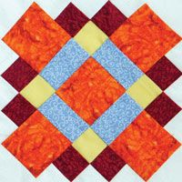 Circle of Friends by @bonniekhunter for Quiltmaker. #addictedtoscraps