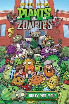 Young adventurers Patrice and Nate have followed neighborhood defender Crazy Dave throughout time--but are they ready to investigate a school campus to keep the streets safe from zombies? In Plants vs. Zombies: Bully For You, they'll be visiting a very strange college in an attempt to take down Dr. Zomboss yet again--and any school visit's tolerable if you get to battle zombies!