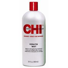 The CHI Keratin Mist Leave-In Strengthening Treatment was created to be used with tools and products from the CHI line. The strengthening spray protects the hair and preserves its softness and shine. Using the CHI Keratin Mist Leave-In Strengthening Treatment makes the hair more manageable.   As low as: $24.26