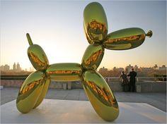 Jeff Koons Goes After Gallery's 'Balloon Dog' Bookends - The New York Times Arte Pop, Jeff Koons Balloon Dog, Modern Art, Contemporary Art, 3d Artwork, Art Plastique, Public Art, Installation Art, Art Installations
