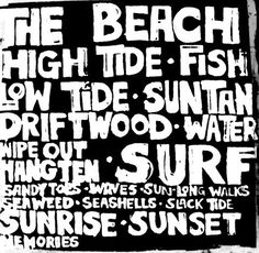 "Beach Surf Art Print 16"" x 16"" Black and White Contrast Surfer Boy Girl Coastal Surf Nursery Baby Birthday Party Kids Room"