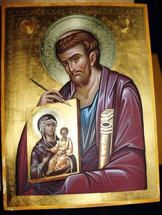 Faith Of Our Fathers, St Luke, Byzantine Icons, Saint Nicholas, Orthodox Icons, Style Icons, Catholic, Saints, Angel