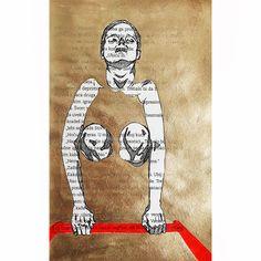 "Women doing things [series]: ""Immerse and take off."" Tanja Mirkovic, freelance illustrator. On Tumblr as ""Tanja Mirkovic Illustrations"" #immerse #dipping #gold #goldenink #ink #illustration #drawings #drawing #book #sketchbook #linedrawing #floating #sensual #woman #watersurface #knees #hands #tanjamirkovicillustrations"