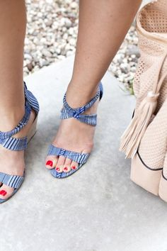 Espadrille Wedge - Colorful