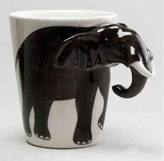 This adorable mug. And other elephant inspired products