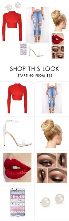 Street Style Collection Outfit 4 by americ0 on Polyvore featuring WearAll, Zara, Blue Nile, Casetify, women's clothing, women's fashion, women, female, woman and misses