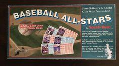1997 STRAT-0-MATIC BASEBALL ALL-STARS BOARD GAME 56 AMER & NATL STAR #stratomatic