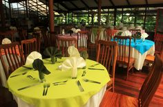 pachira lodge dining room   - Costa Rica