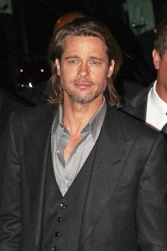 Brad Pitt ~ Dec. 6, 2011  NYC