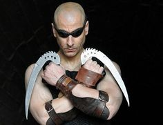 Chronicles of Riddick leather glove / arm bands below / All Sizes / BY SBL -- To view further for this item, visit the image link.
