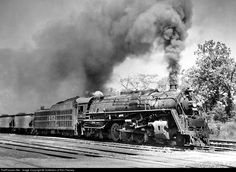 Louisville & Nashville 2-8-4 - He is best known for his black and white photography and sound recordings of the last days of steam locomotive railroading on the Norfolk & Western in the United States in the late 1950s.