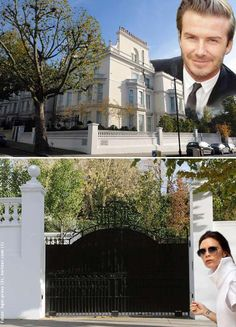 The New House of the Beckhams in London (round 48 Million euros)