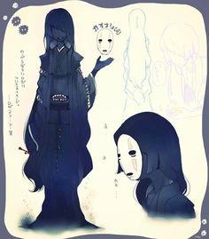 No Face / Ghibli / Spirited Away