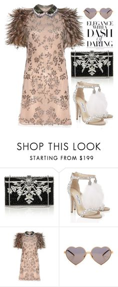 """""""Dec 27th (tfp)"""" by boxthoughts ❤ liked on Polyvore featuring Judith Leiber, Jimmy Choo, Valentino, Wildfox and tfp"""