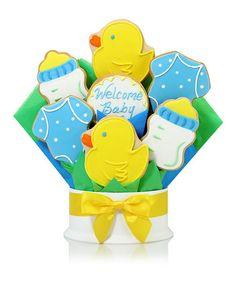 Look what I found on #zulily! It's a Boy Seven-Cookie Bouquet #zulilyfinds