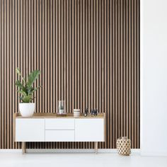 Acupanel Natural Walnut Acoustic Wood Panel : Acupanel Natural Walnut Acoustic Slat Wood Panels for Wall & Ceiling Stick On Wood Wall, Wood Slat Wall, Wood Panel Walls, Wooden Slats, Wood Veneer, Wood Paneling, Wall Panelling, Wall Pannels, Wood Slat Ceiling