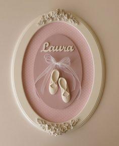 Porta Maternidade Bailarina