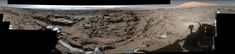 Full-Circle Vista from 'Naukluft Plateau' on Mars This mid-afternoon 360-degree panorama was acquired by the Mast Camera (Mastcam) on NASA's Curiosity Mars rover on April 4 2016 as part of long-term campaign to document the context and details of the geology and landforms along Curiosity's traverse since landing in August 2012.
