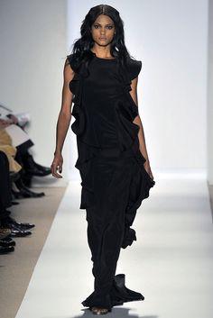 Dennis Basso Fall 2009 Ready-to-Wear Fashion Show - Danielle Henry