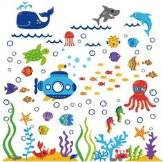 Under the Sea Submarine Nursery Wall Sticker Decals, http://www.amazon.com/dp/B00CXWIL6I/ref=cm_sw_r_pi_awdm_CR6Mtb13R97FP